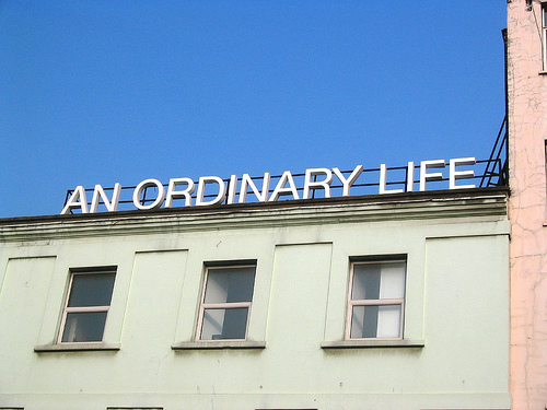 An Ordinary Life sign