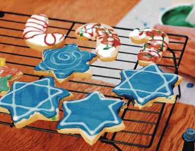 December Dilemma cookies