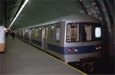 E Train 1970s 5 Ave