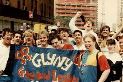 GLYNY 1987 banner