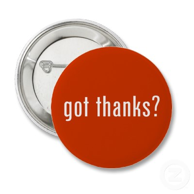 Got Thanks button