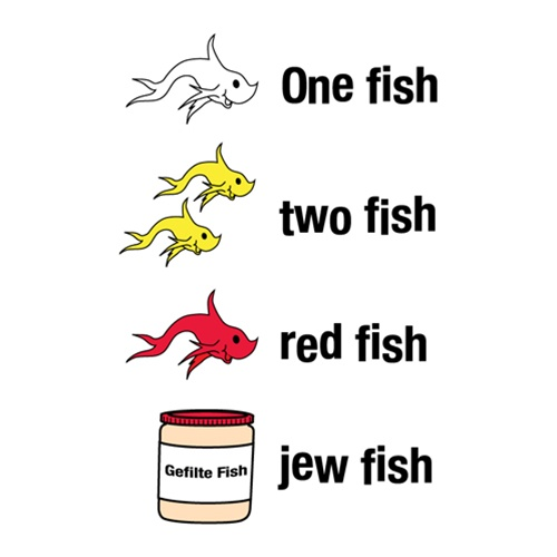 Jew fish tee shirt