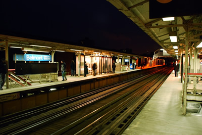 Lonely Belmont Platform