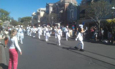 Mickey & Marching Band