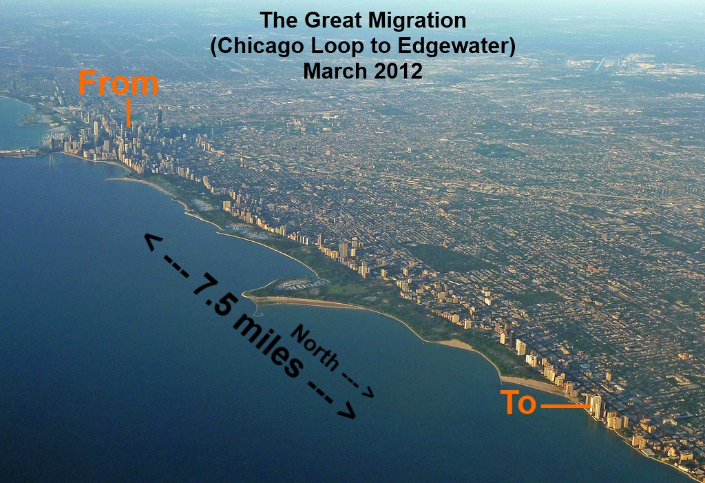 The Great Edgewater Migration 2012
