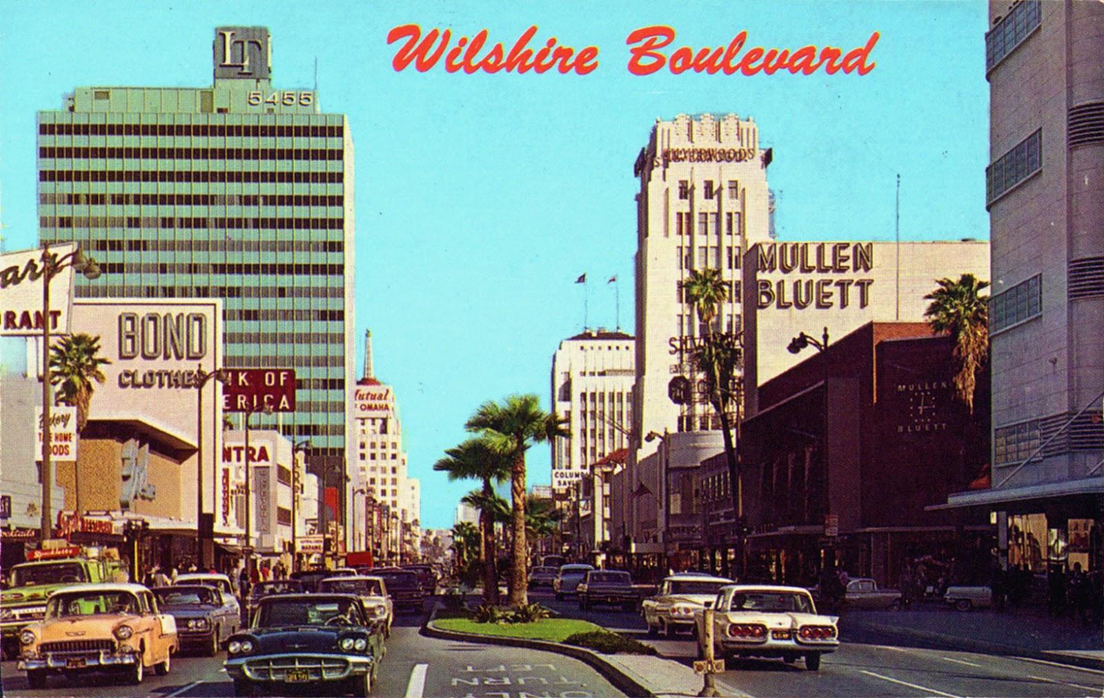 Wilshire Boulevard 1960