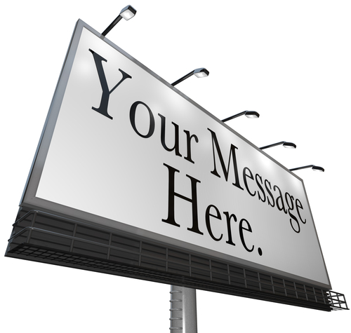 Your Message Here Billboard