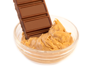 chocolate-in-peanut-butter