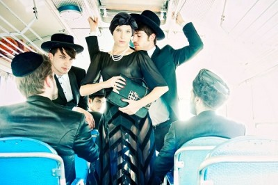 fashion woman israel bus