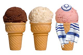 jewish ice cream cone