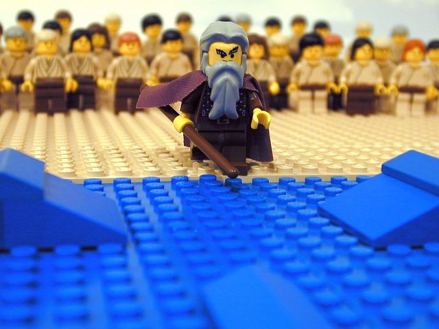 lego parting red sea