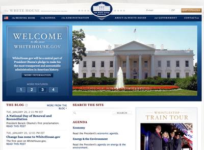 newwhitehousepage