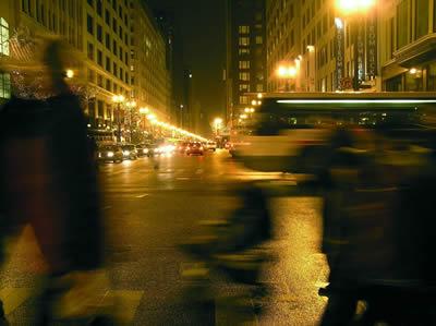 state street bus blur